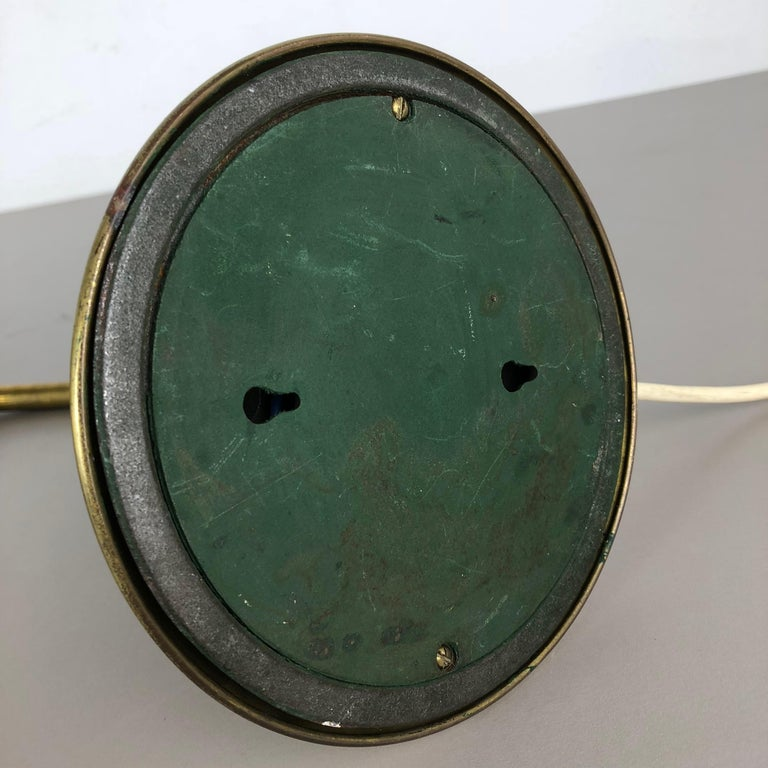 Original Modernist Brass Metal Table Light Made by Cosack Attributed, Germany For Sale 14