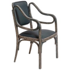 Original of Time Otto Wagner Armchair 1901 Jugendstil, Secession Style 1901