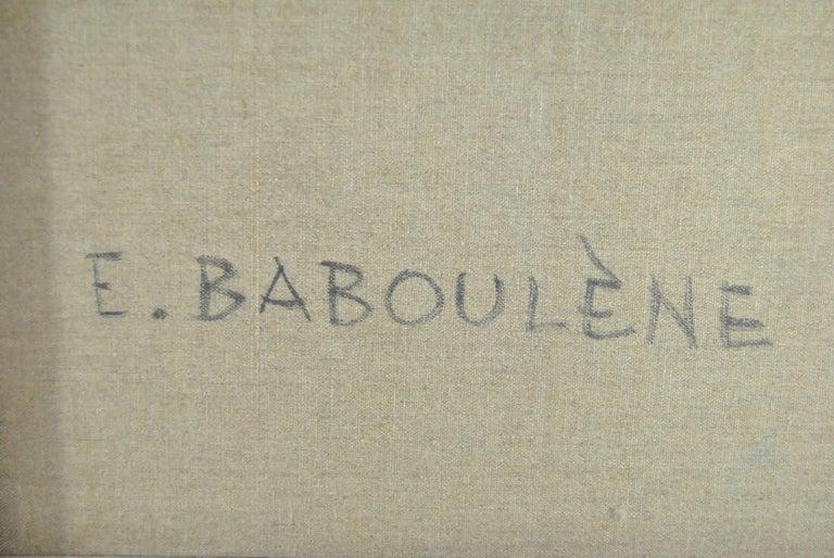 Original Oil on Canvas French Artist Eugene Baboulene Campagne Dans Les Oliviers For Sale 3