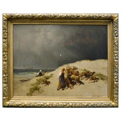 Original Oil Painting by the English Artist James R. Webb