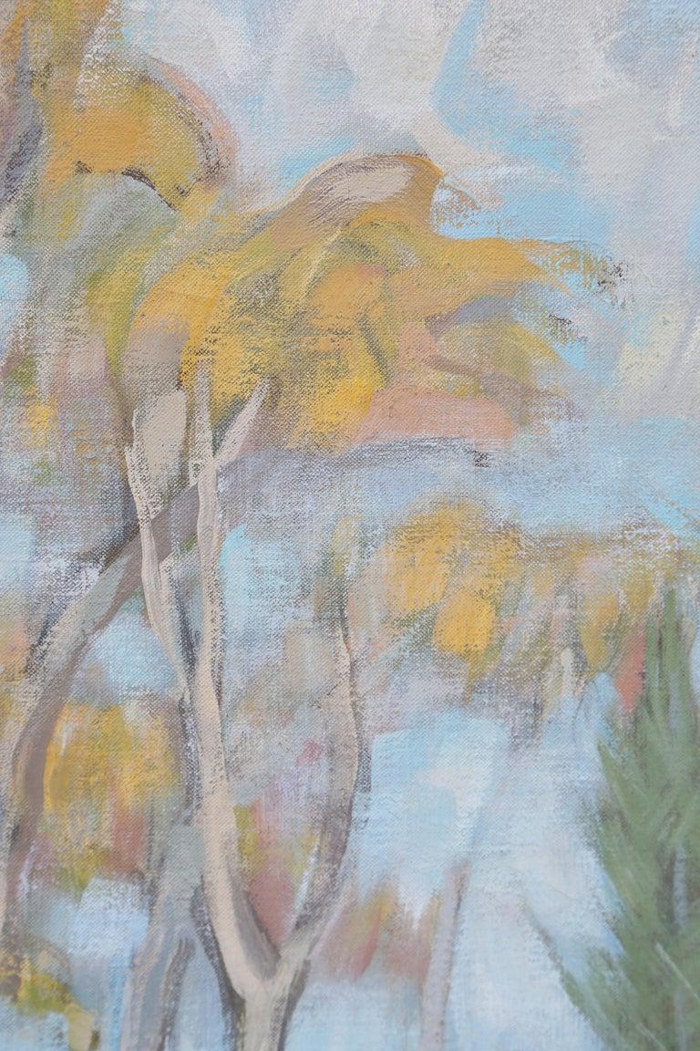 American Original Oil Painting of Maine Landscape by Henry Varnum Poor For Sale
