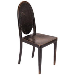 Original Otto Prutscher & Gebrueder Thonet Vienna Jugendstil Chair, 20th Century