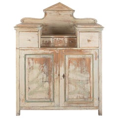 Original Paint 19th Century Swedish Buffet
