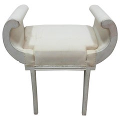 Original Paint Royal Gustavian Vanity Stool