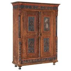 Original Painted Armoire
