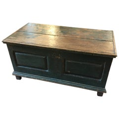 Original Painted Canadian Blanket Box