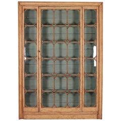 Original Painted English Bookcase
