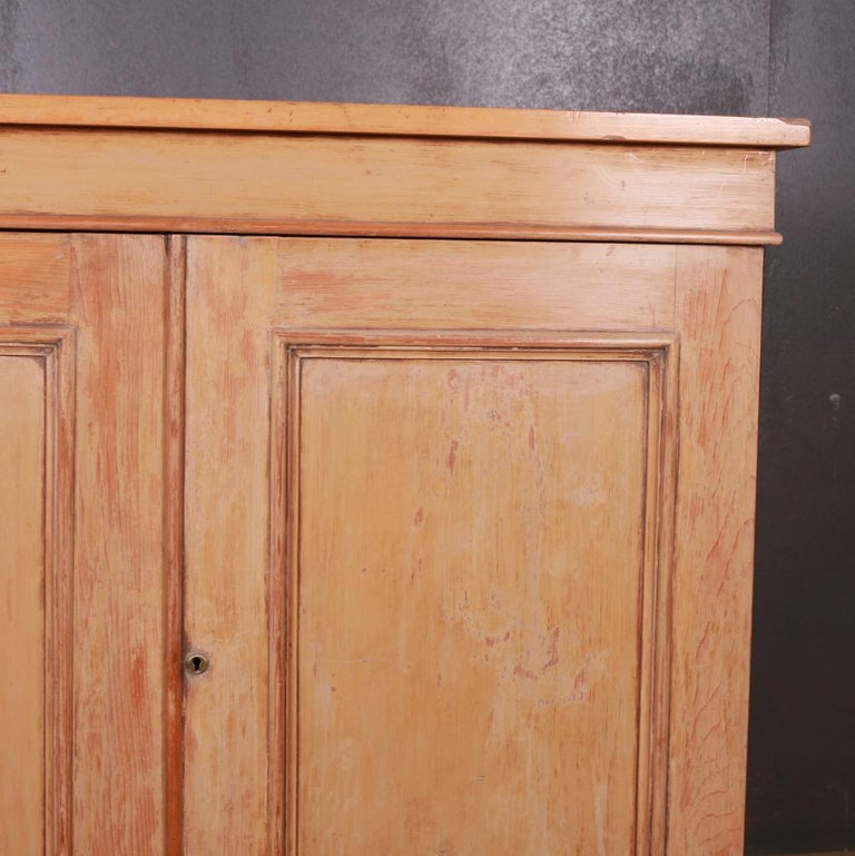 Original Painted French Buffet In Good Condition For Sale In Leamington Spa, Warwickshire