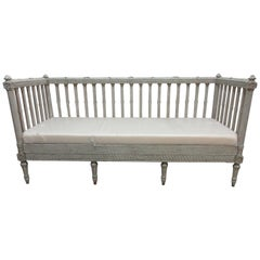 Original Painted Swedish Gustavian Sofa