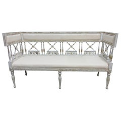 Original Painted Swedish Gustavian Sofa