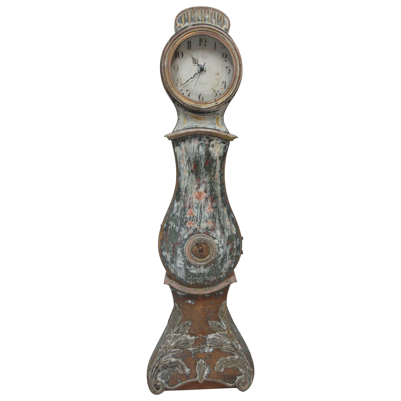 Original Painted Swedish Mora Clock