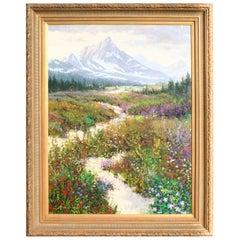 "Original Painting ""Colorado National Park"" by Thomas deDecker"