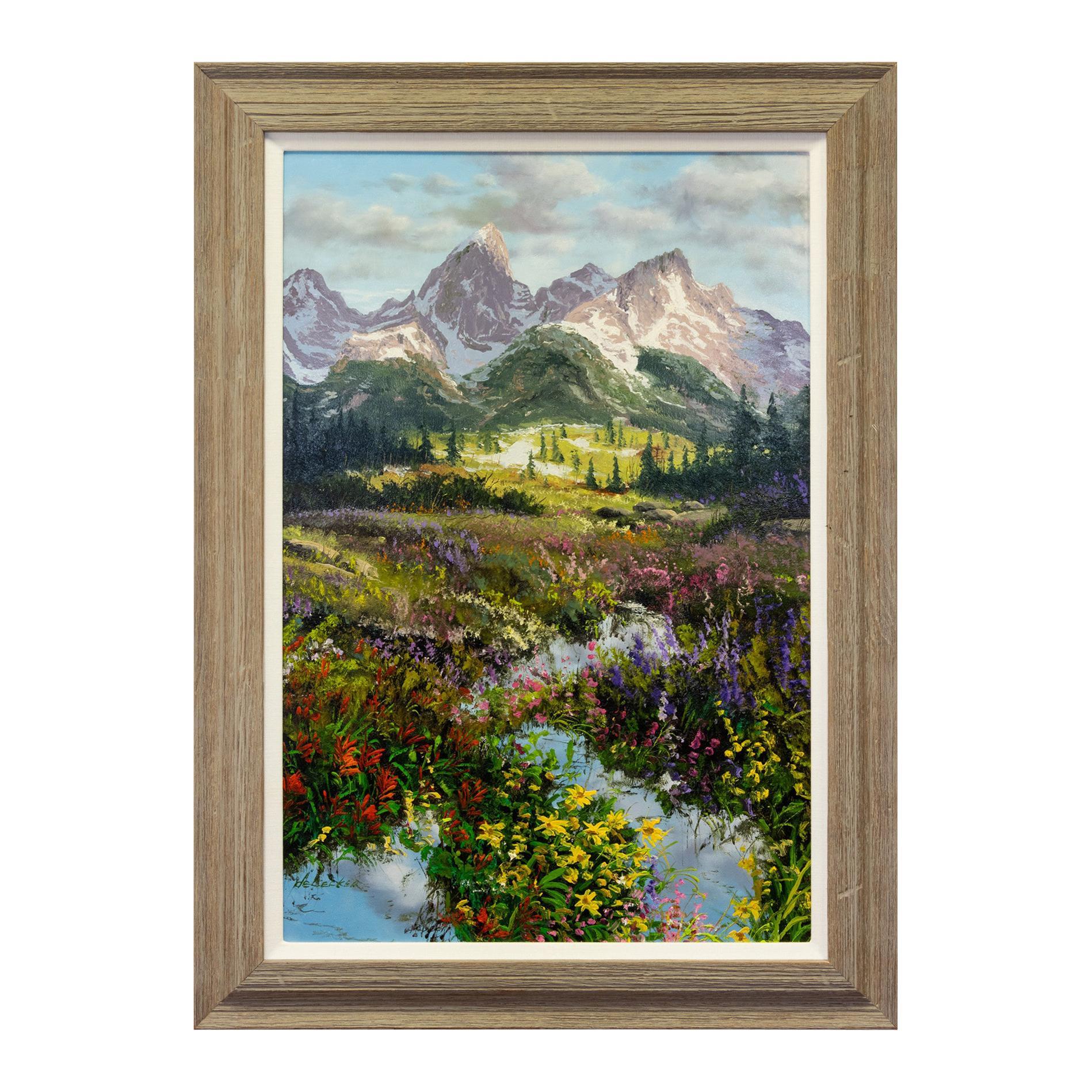 "Original Painting ""Grand Display"" by Thomas deDecker"