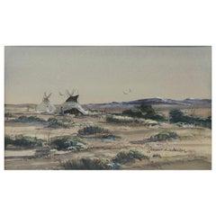 "Original Painting ""South End Teancum Valley"" by Thomas DeDecker"