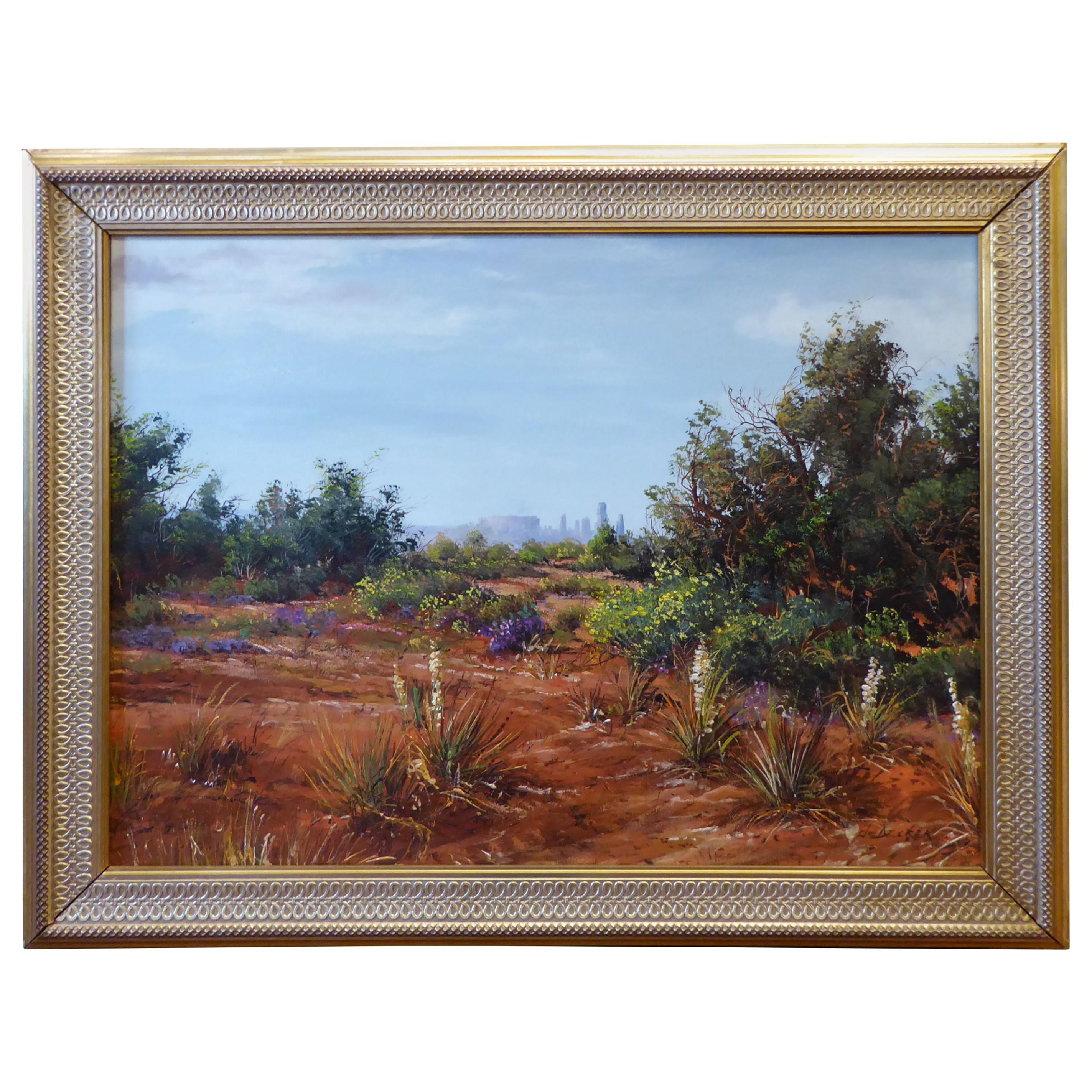 "Original Painting ""Southwest Desert"" by Thomas DeDecker"