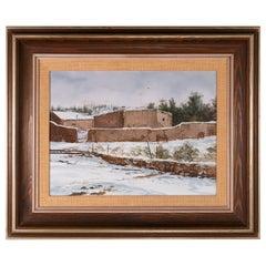 "Original Painting ""Southwest Ranch"" by Thomas DeDecker"