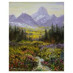 "Original Painting ""Spring Valley"" by Thomas deDecker"
