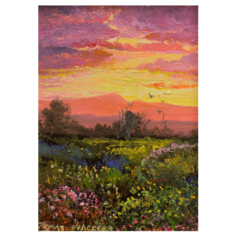 "Original Painting ""Sunrise"" by Thomas deDecker"