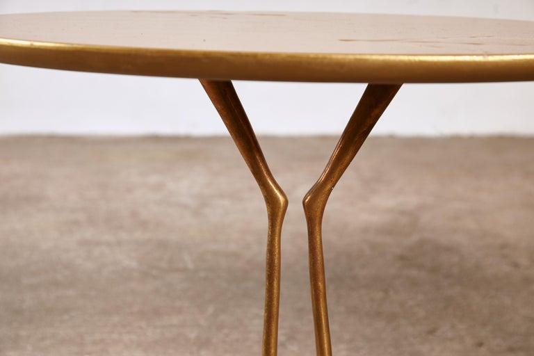 Original Pair of 1970s Meret Oppenheim Traccia Tables, Gavina, Italy For Sale 3