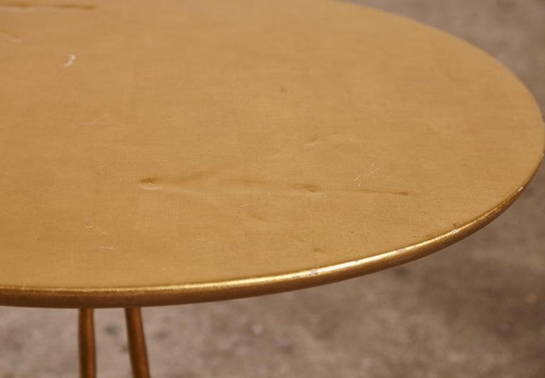 Original Pair of 1970s Meret Oppenheim Traccia Tables, Gavina, Italy For Sale 4