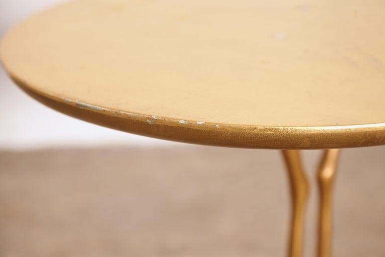 Original Pair of 1970s Meret Oppenheim Traccia Tables, Gavina, Italy For Sale 5