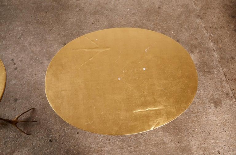 Original Pair of 1970s Meret Oppenheim Traccia Tables, Gavina, Italy For Sale 7