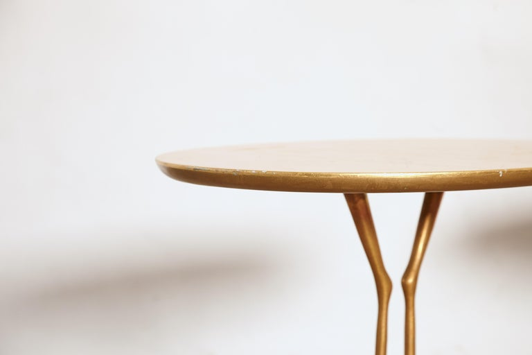 Late 20th Century Original Pair of 1970s Meret Oppenheim Traccia Tables, Gavina, Italy For Sale