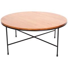 Original Paul McCobb Model 1580 Planner Group Birch & Iron Coffee Table