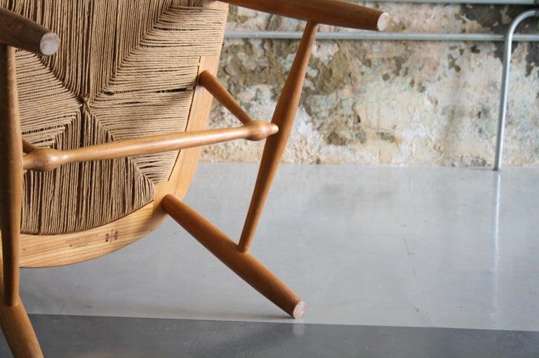 20th Century Original Peacock Lounge Chair by Hans J Wegner for Johannes Hansen Denmark For Sale