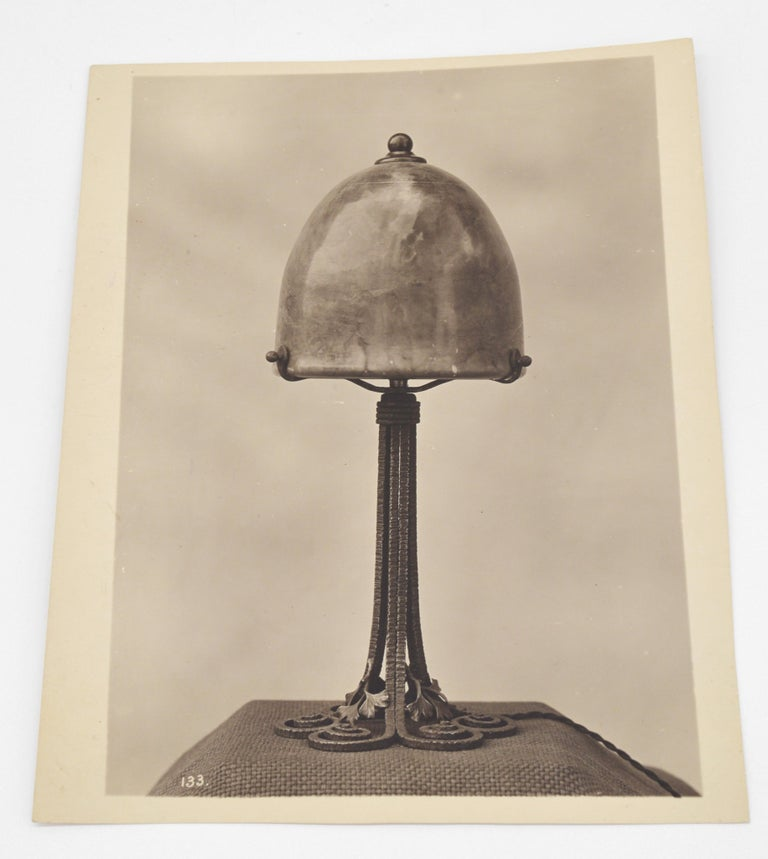 Art Deco Original Photograph from the Edgar Brandt Original Catalog, 1920s For Sale