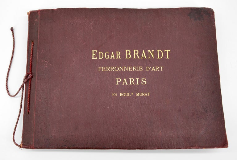 Early 20th Century Original Photograph from the Edgar Brandt Original Catalog, 1920s For Sale