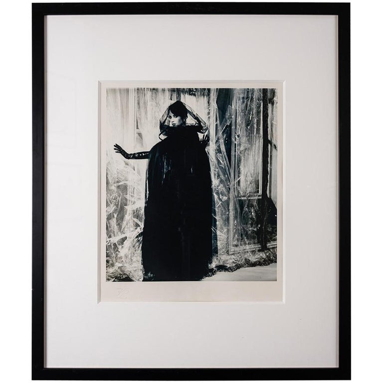 Original Photograph of Christy Turlington by Karl Lagerfeld For Sale