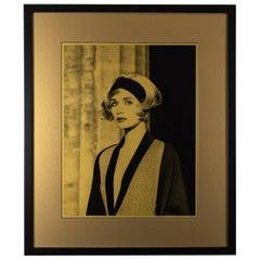Original Photograph of Linda Evangelista by Karl Lagerfeld