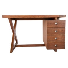 Original Pierre Jeanneret Partners Desk from the Offices of Chandigarh, India