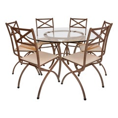 Original Pierre Vandel Dining Table and Chairs