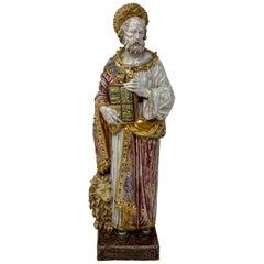 Original Porcelain Figure of Mark, circa 1930s-1950s