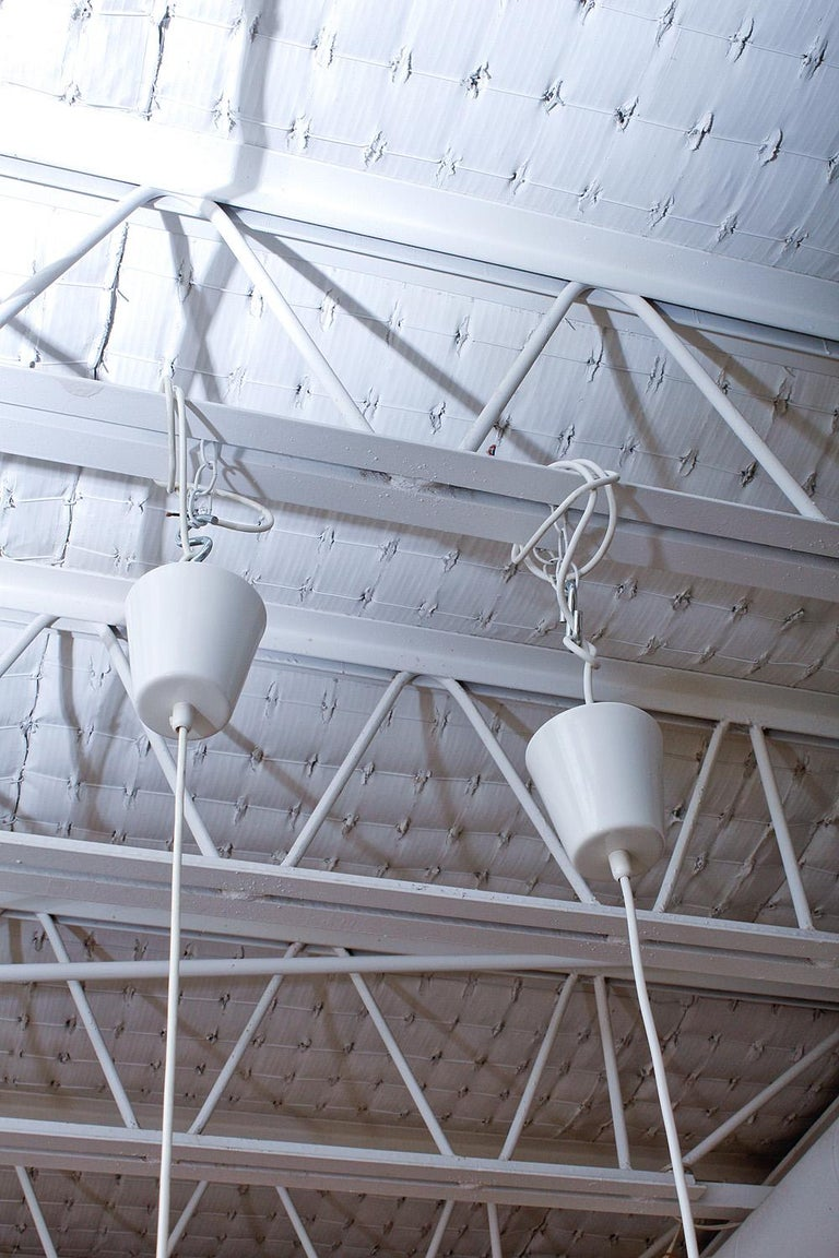 Scandinavian Modern Original Production Alvar Aalto A201 Pendant Lights for Valaistustyö For Sale