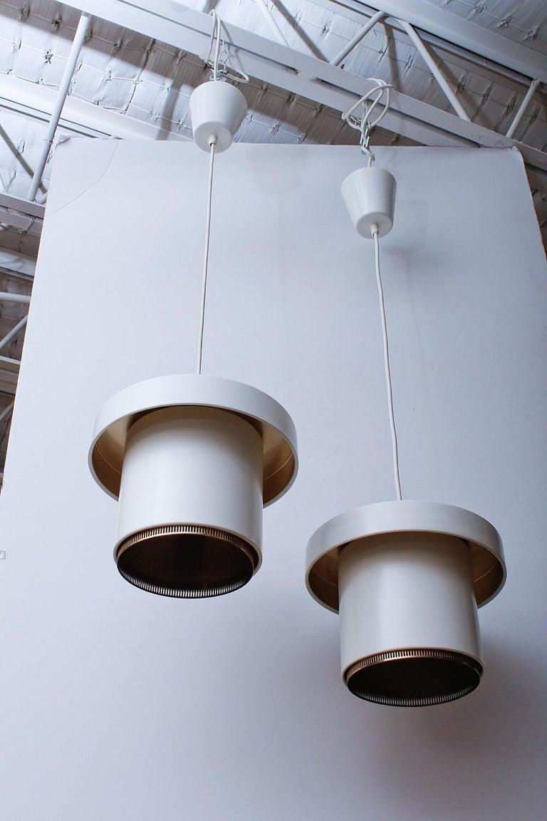 Finnish Original Production Alvar Aalto A201 Pendant Lights for Valaistustyö For Sale