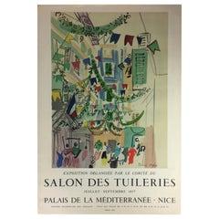 Original Raoul Dufy Mourlot Art Poster, circa 1957