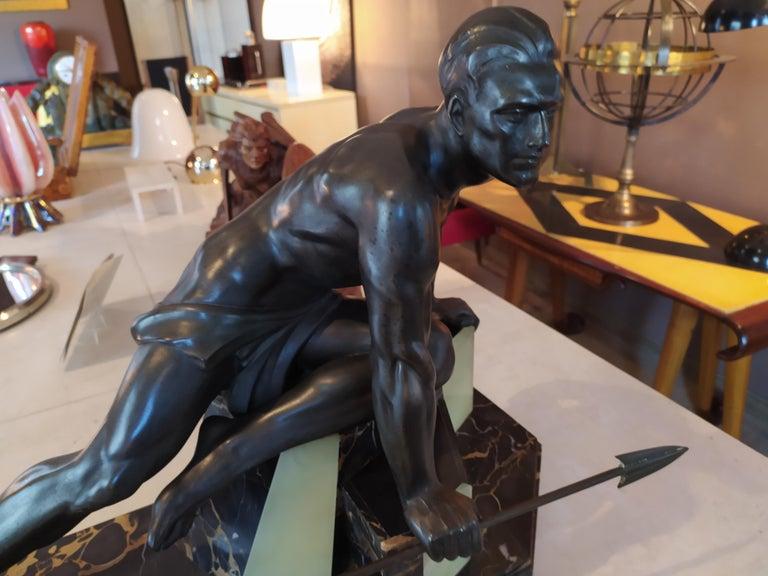 Mid-20th Century Original Rare Art Deco French Sculpture, 1930s