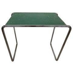 Original Rare Bauhaus Chrome Side Table by Mucke Melder, 1930s