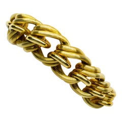 Original Retro Armband aus 18 Karat Gold