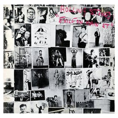 Original Rolling Stones Exile on Main Street Vinyl Record 'First Pressing'