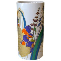 Original Rosenthal Porcelain Flower Vase Studio-Linie Germany by Wolfgang Bauer