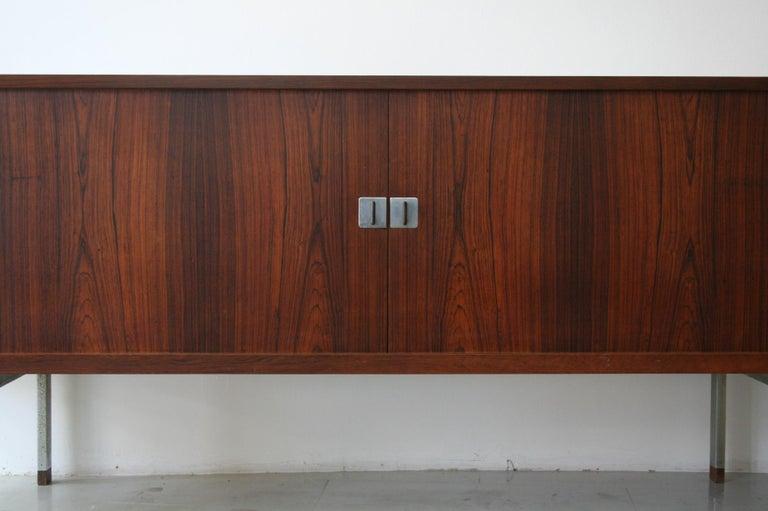 Scandinavian Modern Original Rosewood President Credenza / Sideboard by Hans Wegner RY-25 For Sale