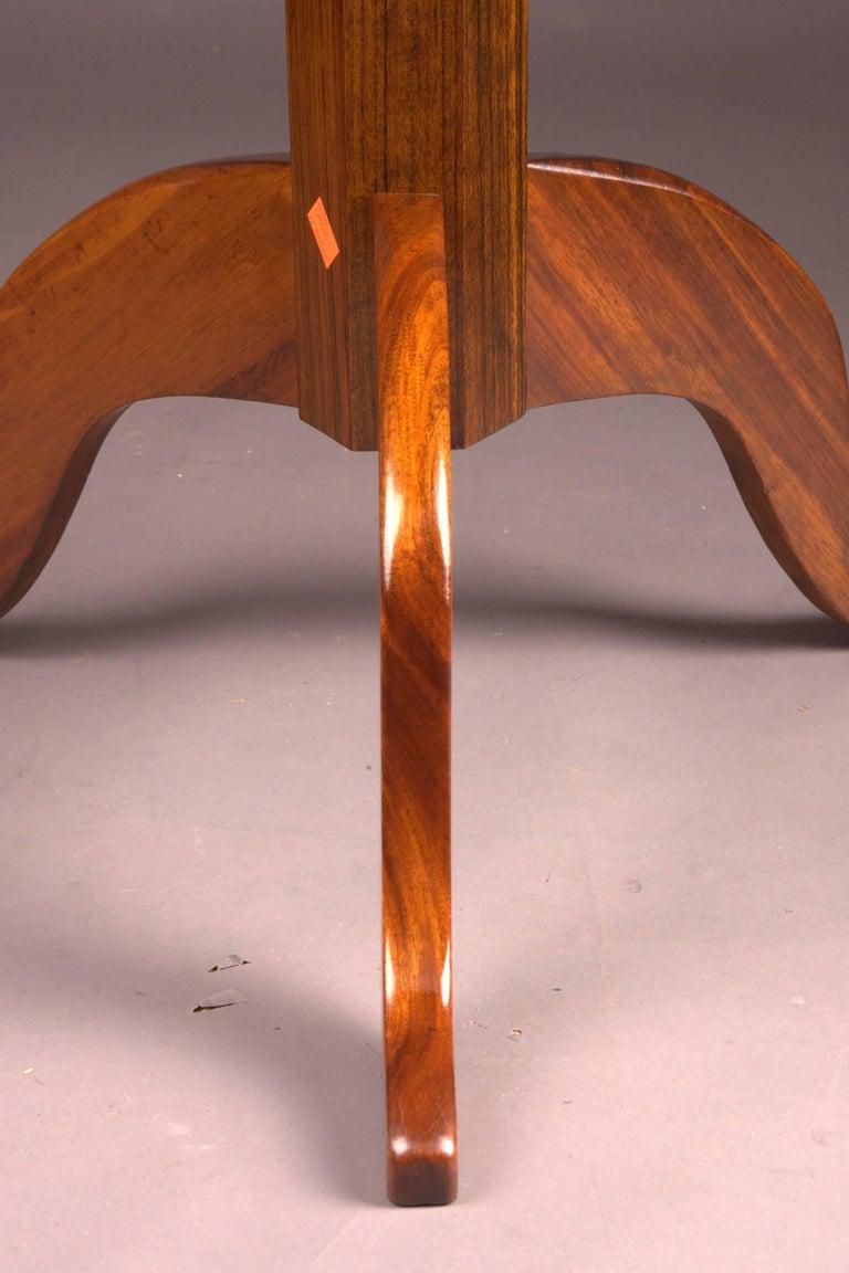 Original Round Biedermeier Folding Table, circa 1820 For Sale 1