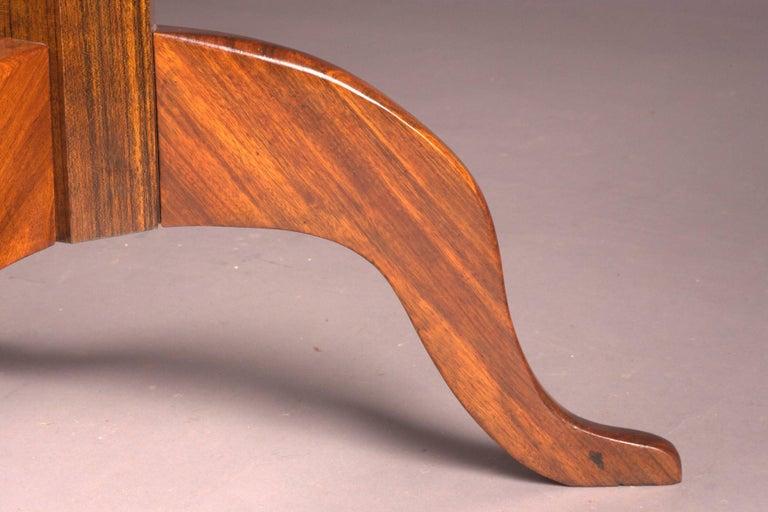 Original Round Biedermeier Folding Table, circa 1820 For Sale 2