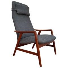 Original Scandinavian Design, Alf Svensson, Armchair, Model Kontour, Restored