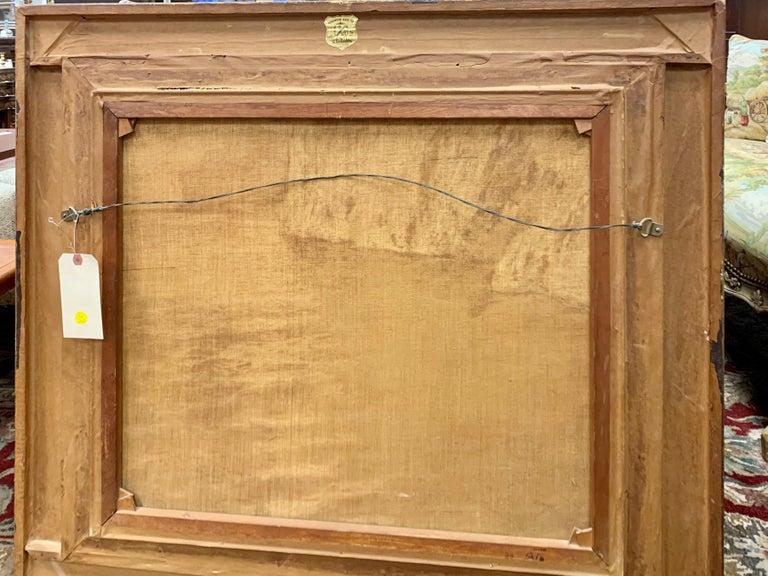 "Original Signed Guido Odierna ""Capri"" Oil on Canvas Seascape For Sale 1"