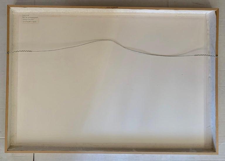 Original Signed Paul Zimmerman Watercolor Gouache Painting For Sale 1